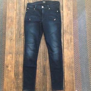 Hudson Dark Blue Skinny Jeans